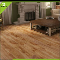 Made in China superior quality polymer interlocking vinyl plank floor