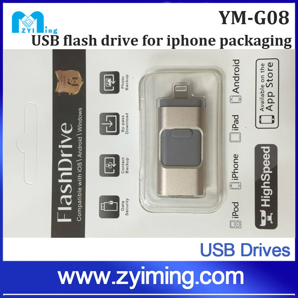 Zyiming wholesale 4tb usb flash drive usb 3.0 OEM Logo for iphone/android
