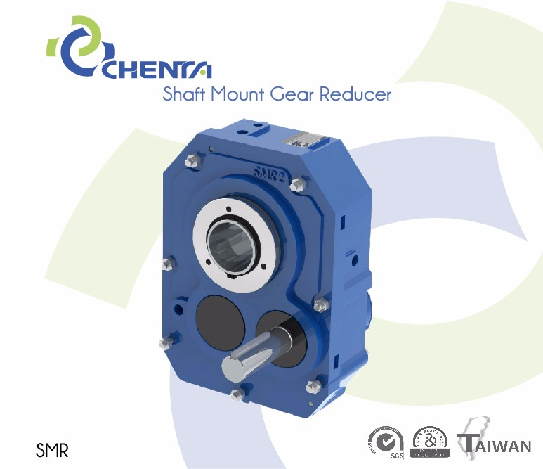 Customized Extension Shaft Mounted Gear Box Reducers 11kw