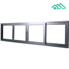 New Style Australian Standard Office Sliding Glass Window with longtime lifespan