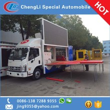 Forland H2 outdoor mobile led display truck stage truck for sale in Eritrea