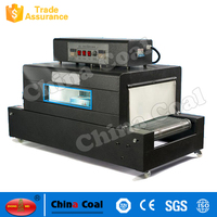 Automatic Plastic Film Heat Shrink Wrapping Machine Shrink Wrapping Oven