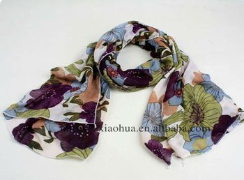 New cotton printed fashion scarf