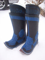 MONGOLIAN TRADITIONAL HAND MADE BOOTS big sell