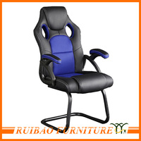 Good Quality Car Seat Style Executive Office Chair with No Wheels for Heavy People