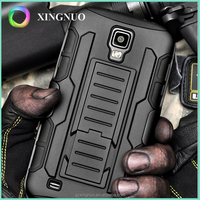 Dual Layer Armor Silicone + Hard Shell Hybrid Kickstand Case Cover For samsung S4 active