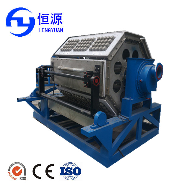 High quality best price recycle paper egg carton machine