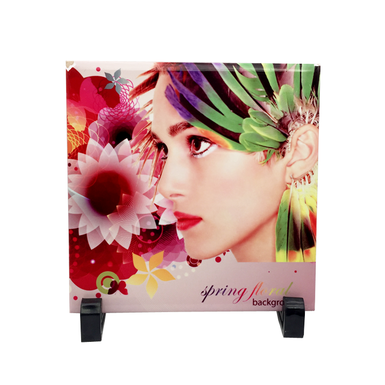 15x15cm Customized Sublimation Porcelain <strong>Tile</strong> for Printing Photos