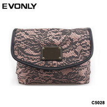 C5028 exquisite nostalgic alibaba french china high quality vanity bag lace cosmetic bag