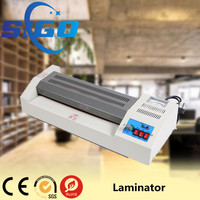 FGK320 A3/A4/A5 Double Sides Hot and Cold Pouch Film Laminator with Knob