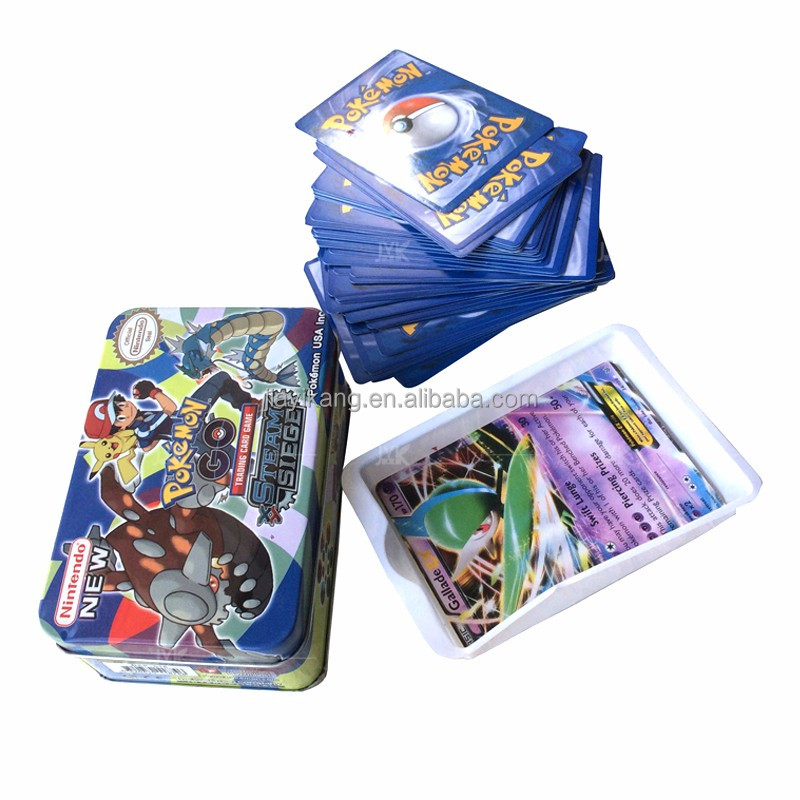 2017 New Pokemon Trading Cards Tin In Size of Mini Medium Big and Chest Tin