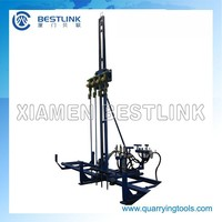 hard rock drilling machine,mobile line drilling machine,line drilling machine for granite