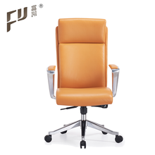 Modern Design Comfort High Back Genuine Leather Executive Office Chair