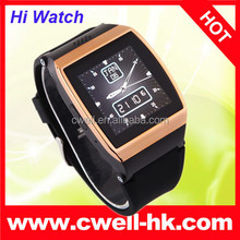 Resistive touch screen Bluetooth Sync Function FM Camera Hi 2014 latest wrist watch mobile phone