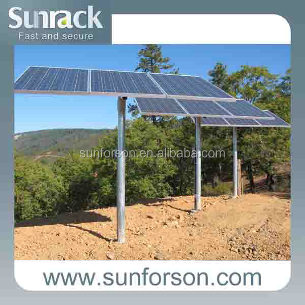 SFS-P-X pole solar pv mounting system,structures,support