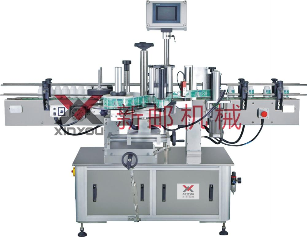 Vetical round bottle labeling machine