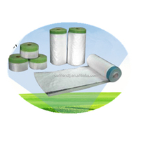 disposable HDPE automotive painting masking film made in China
