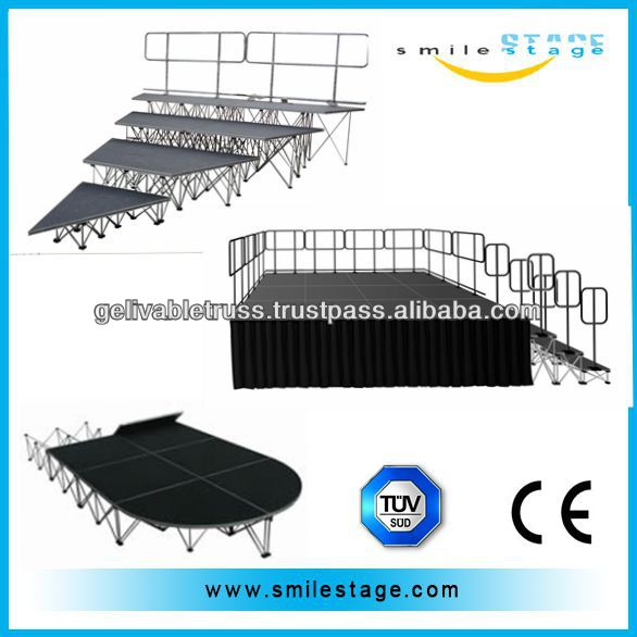 High quality stage platform portable stage for music instrument