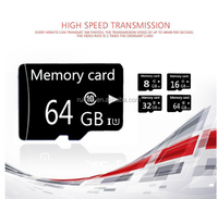 OEM Real Full Capacity 64GB Memory Card With High Speed