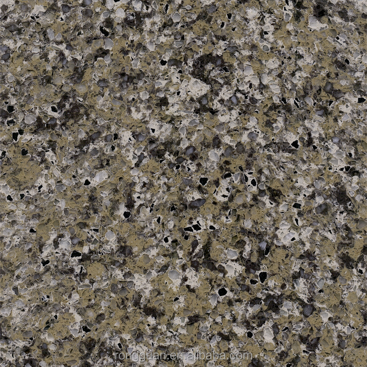 galaxy black artificial marble quartz stone(QR115)