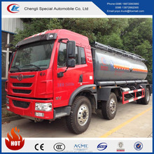 FAW 6*4 chemical tanker truck, 15000 litres Corrosion material tank truck