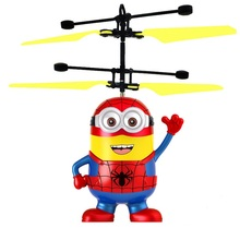 flying rc ball with led mini flashing light aircraft helicopter