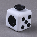 AD073 China supplier Wholesale Stock Vinyl Desk Fidget Toy Stress Relief Fidget Cube With Shell