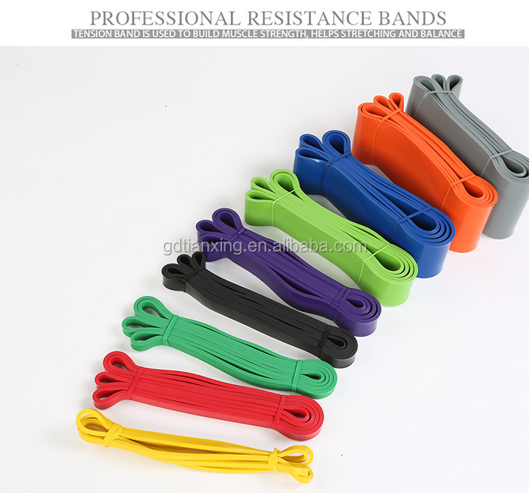 Power Resistance Bands - Assisted Pull Up Band, Resistance & Stretch Band | Powerlifting Bands