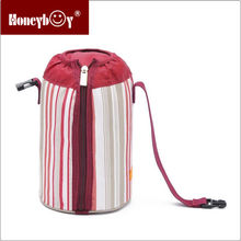 polyester wine tubbiness red cooler bag newest design