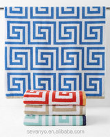Jacquard Household Greek Key Face towel FT-031 wholesale