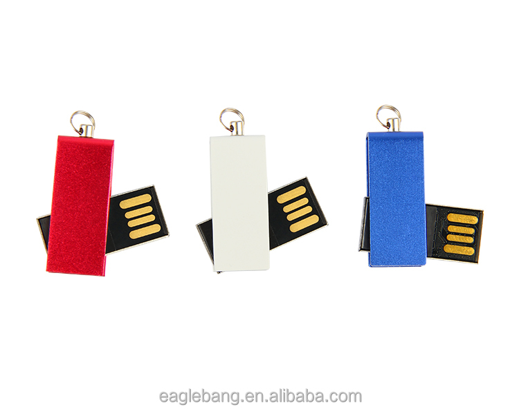 colorful mini USB Flash driver with metal box for gift