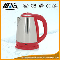 1.5L cheap low wattage electric kettle with heating element