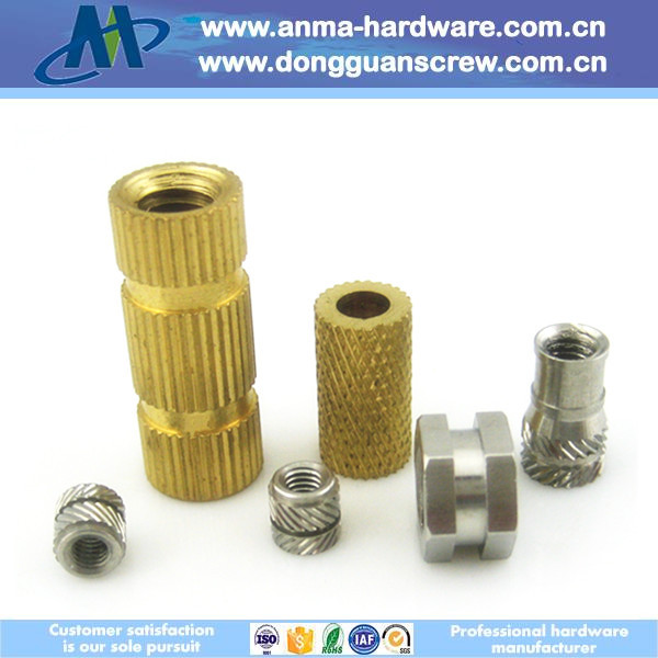 OEM/ODM customized All kinds of material knurled insert nut (factory direct sale)