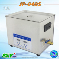 Free shipping hot sale best price digital medical ultrasonic cleaner 10l with free basket