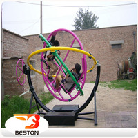 Cheap amusement rides outdoor human gyroscope for sale