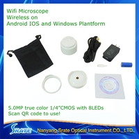 W5 USB digital misroscope wifi microscope for smart phone PC Ipad and laptop