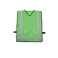 100%Polyester colorful reflective safety vest for running with BSCI certificate