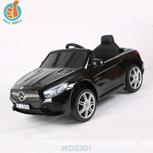 WDS301 Licensed 2.4G Remote Control Ride On Car Benz For Baby With FM Radio