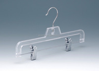 clear plastic pants hanger for child