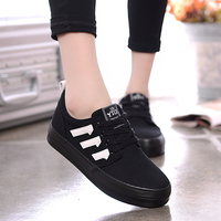 red white black customized logo brand Europe styles charming latest CE certificate best quality women no lace casual canvas shoe