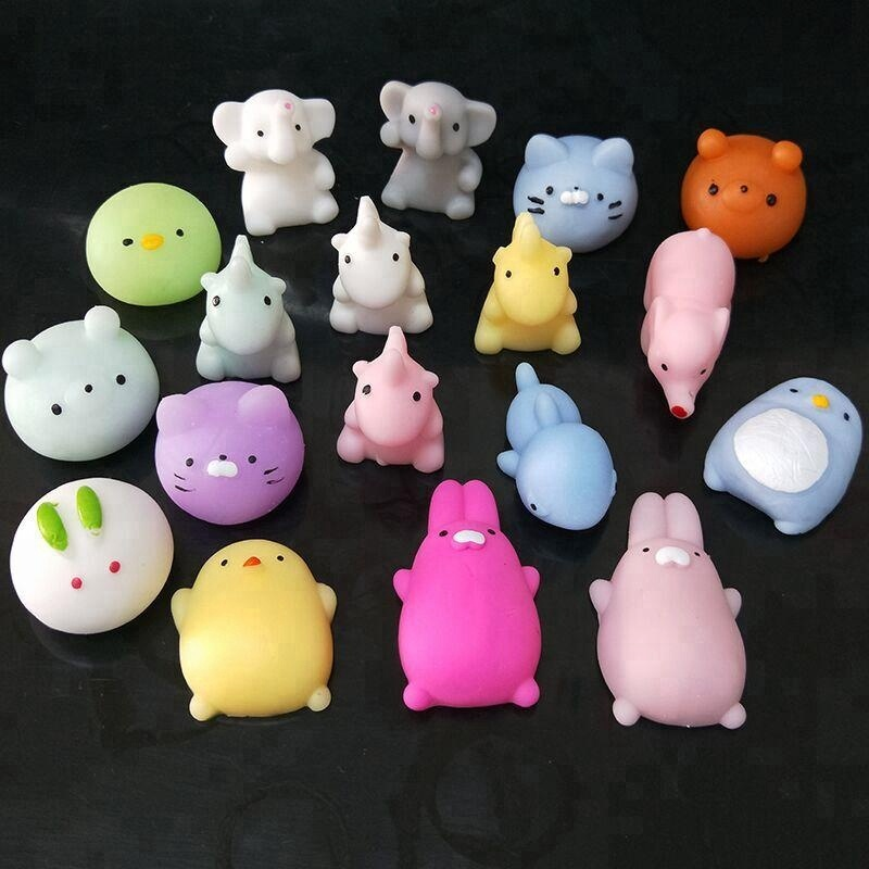New Arrival TPR Kawaii Mini Animal Squishies <strong>Toy</strong> Cute Design Soft Squishies Animal Stress <strong>Toy</strong>