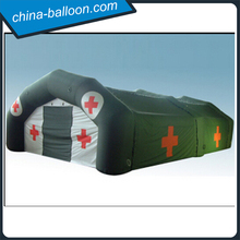 Latest inflatable hospital tent inflatable cube tent for camping or field operations