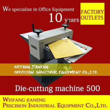 New paper die cutting machine mq500 business card cutter view new paper die cutting machine mq500 business card cutter reheart Gallery