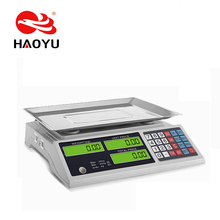 Hot sell and low price digital weighing 60kg Popular Electronic Computing price scale