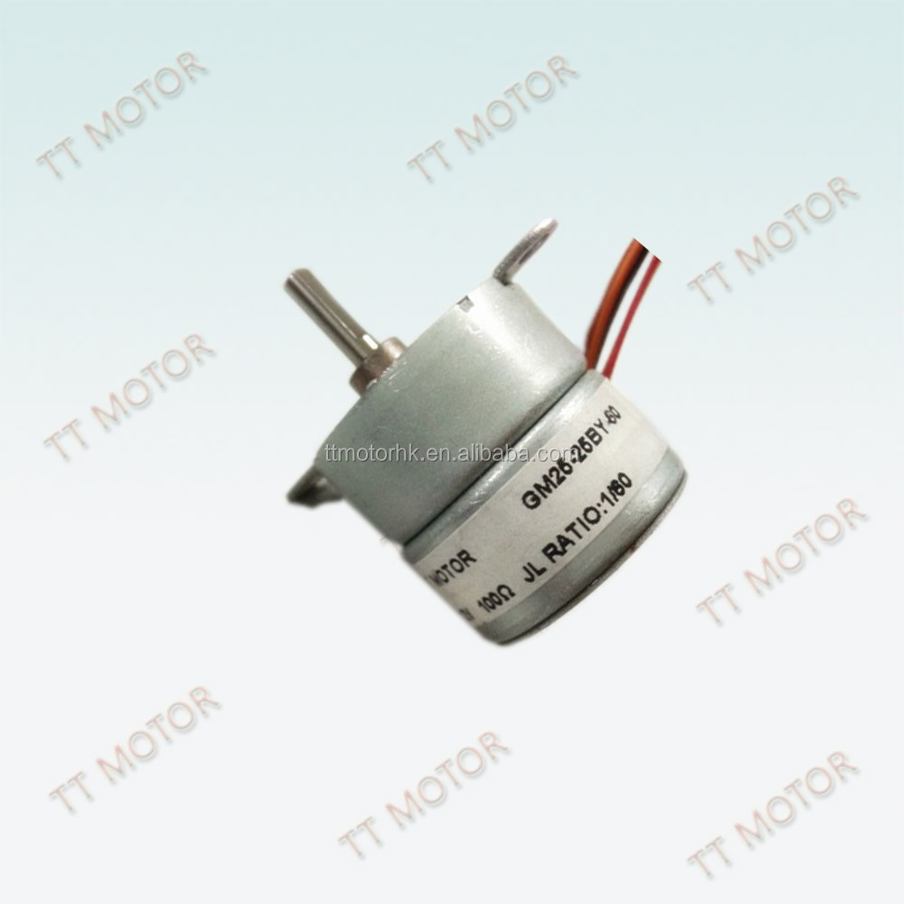 bipolar 4 phase 12v gm stepper motor for valve