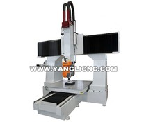 CE provided 5 axis cnc router engraving machine cnc 9015/easy operation 5 axis cnc router machine (YLM-006)