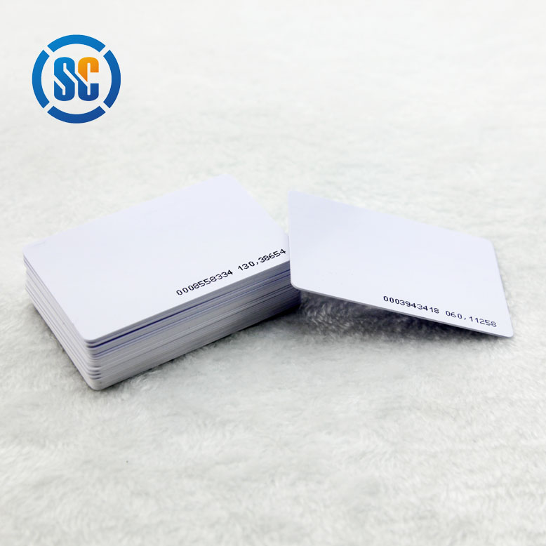 whole sale price tray for canon printer pvc blank smart card