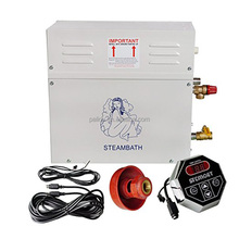 Electrical connection home spa shower sauna bath small steam generator for sale