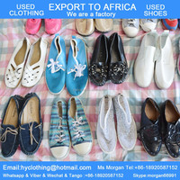 high quality factory directly supply shoes used export to Africa