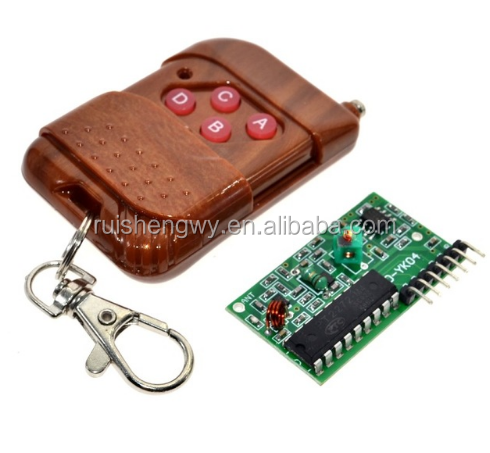 IC 2262/2272 4 Channel 315Mhz Key Wireless Remote Control Kits Receiver module